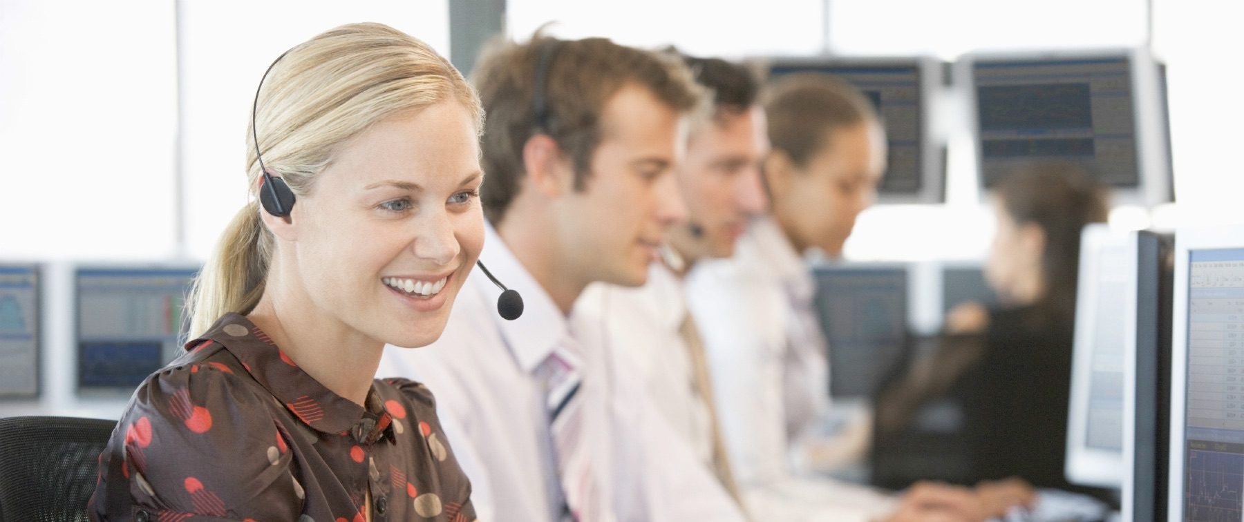 Experienced call operators at your service!